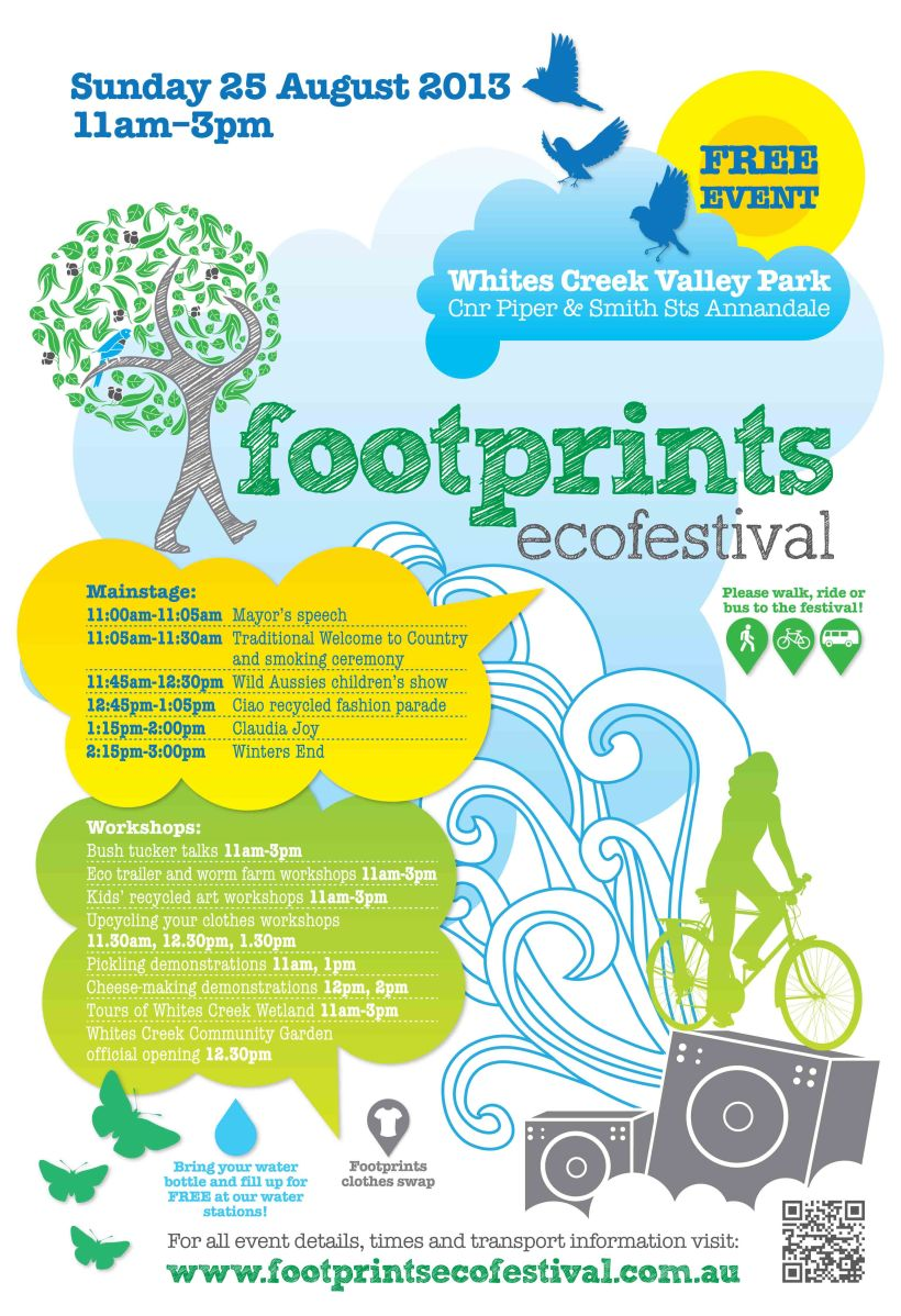 Come on down and support Leichhardt Council Footprints Ecofestival!