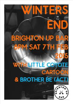 Winters End Brighton Up Bar Feb 2015